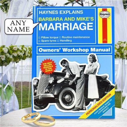 Haynes Explains Marriage - Personalised Book